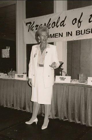 Pamela Speaking in 1999